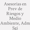 Asesorias En Prev. De Riesgos Y Medio Ambiente, Adm. Sgi