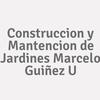 Construccion y Mantencion de Jardines Marcelo Guiñez U