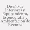 Diseño De Interiores Y Equipamiento, Escenografía Y Ambientación De Eventos