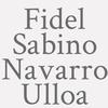 Fidel Sabino Navarro Ulloa
