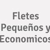 Fletes Pequeños y Economicos