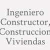 Logo Ingeniero Constructor, Construccion Viviendas_4913