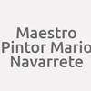 Maestro Pintor Mario Navarrete