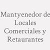 Mantyenedor De Locales Comerciales Y Retaurantes