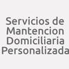 Servicios De Mantencion Domiciliaria Personalizada