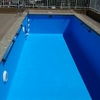 Pintar piscina, medida 11x9 promedio profundidad 1. 75 sacar pintura anterior.