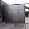 Confección e instalación de portón metálico de corredera