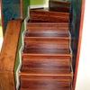 Revestir escalera con madera