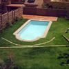 Foto: Vista de piscina romana de 6 x 3