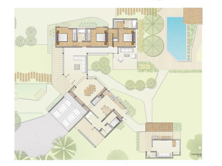 Proyectos de paisajismo para parcelas de agrado por 450 for Jardineros ltda