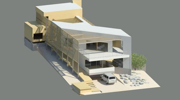 Anteproyecto casa en Caldera