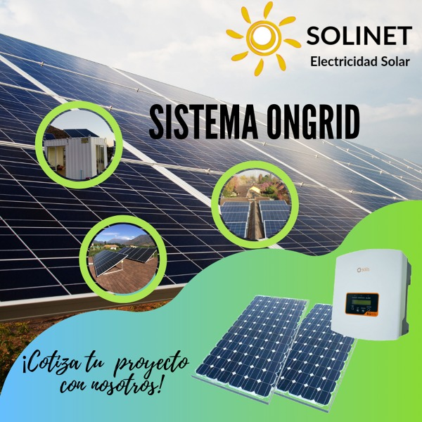 Cotiza tu Proyecto Fotovoltaico