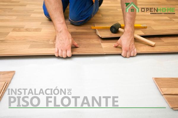Instalación piso flotante