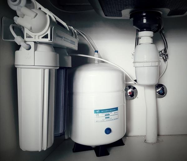 Instalamos purificadores de agua por osmosis inversa