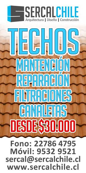 MANTENCION TECHOS Y CANALETAS