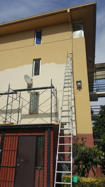 Pintura de fachada de edificios
