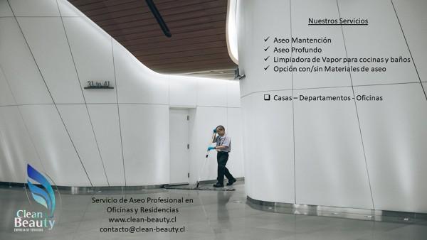 Servicio de Aseo Profesional en Oficinas