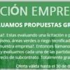Promo empresas - evaluamos propuestas gratis!