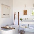 baño ordenado