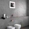 Baño con revestimiento de microcemento