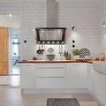 cocina con azulejos tipo metro