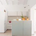 cocina minimalista pequeña