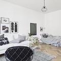 Dormitorio salón nórdico