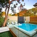 piscina en exteriores