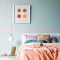 habitación tonos pastel
