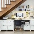 Oficina debajo de las escaleras