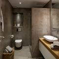 paredes cemento baño