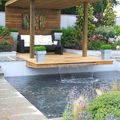 piscina con cascada