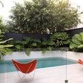 piscina pequeña rectangular