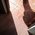 Piso cocina exterior