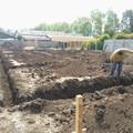 Preparación de terreno y excavacion de fundaciones
