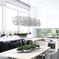Estores de tela con ventanas de aluminio