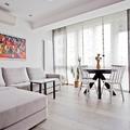 salón con suelo radiante