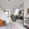 Living y cocina integrados