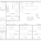 Proyecto remodelación oficinas constructora del sur