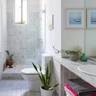 Ventanas en cuarto de baño