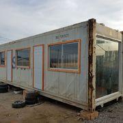 Construcción de oficina en contenedores