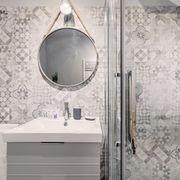 baño azulejos retro