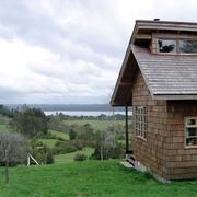 Cabaña Lago Rupanco: obra nueva.