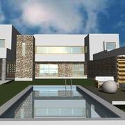 Casa Mediterranea Vista Frontal