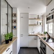 Cocina que aprovecha altura