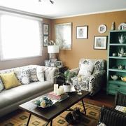 Proyecto living/comedor estilo New Colonial