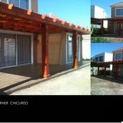 Construcción casa Ingrid Korner, Chicureo.