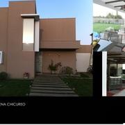 Construcción casa Santa Helena, Chicureo.