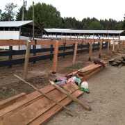 Construcciones de instalaciones agrícola
