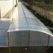 Diseño y construcción de Cubierta para acceso de personal Centro Distribución Rosen Temuco.